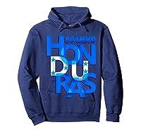 Honduras 504 Hnd Catracho T-shirt Hoodie Navy