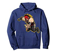 Kane Clothesline Graphic Shirts Hoodie Navy
