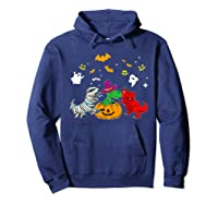 Funny Saurus Halloween Costumes Saurus Lovers Shirts Hoodie Navy