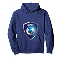 Al-hilal Soccer Football Tee Saudi Team Fan T-shirt Hoodie Navy