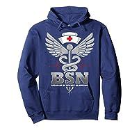 Gift For Bachelor Nurse Nurses Nursing Stay Strong T-shirt Hoodie Navy