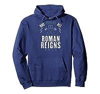 Roman Reigns One Vesus All Baseball Shirts Hoodie Navy