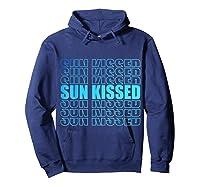Sun Kissed Summer Gift T-shirt Hoodie Navy