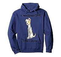 Dog Lover Nursing Cute Animal Lover Puppy Nurse Shirts Hoodie Navy