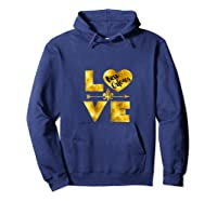 New Orleans For Love Nola Black And Gold Gift Shirts Hoodie Navy