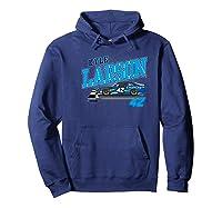 Nascar - Kyle Larson - Dust Storm Premium T-shirt Hoodie Navy