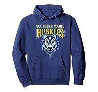 University Of Southern Maine Huskies Ppusmn02 Shirts Hoodie Navy