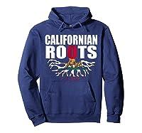 Storecastle Californian Roots California Pride Gift Shirts Hoodie Navy