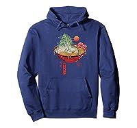 Ra Landscape Premium T-shirt Hoodie Navy