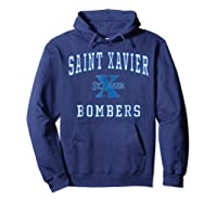 St Xavier High School Bombers C1 Shirts Hoodie Navy