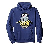 Nature Cat Houston Character T-shirt T-shirt Hoodie Navy