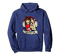 Croatian Girl Croatian Woman Croatia Croatian T-shirt Hoodie Navy