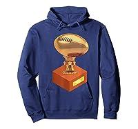 Fantasy Football Champion Trophy Shirts Hoodie Navy