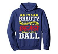A Beauty In The Hall Funny T Shirt For Basketball Players Hoodie Navy