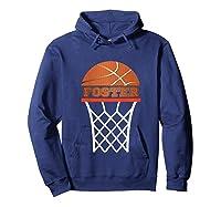 Basketball Foster Custom Name Gift, Shirts Hoodie Navy