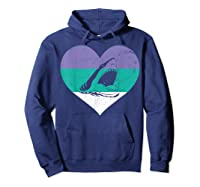 Funny Family Matching Gifts Great Shark T-shirt Hoodie Navy