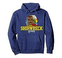 Shipwreck Beach Shirts Hoodie Navy