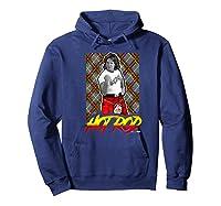 Wwe Nerds - Hot Rod Roddy Piper Neon Series Premium T-shirt Hoodie Navy