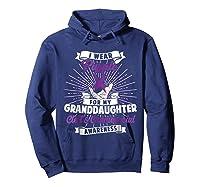 Cleft & Craniofacial Awareness Purple For Granddaughter Ts Shirts Hoodie Navy