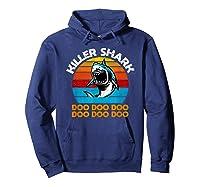 Killer Shark Funny Meme Shirts Hoodie Navy