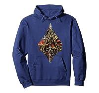 Assassin\\\'s Creed Syndicate Sword Logo Premium T-shirt Hoodie Navy