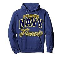 Proud Navy Fiance Shirt Hoodie Navy