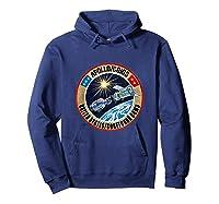 Apollo-soyuz Rendezvous Patch T-shirt Nasa History Hoodie Navy