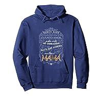 Camiseta De Mujer Para Mamas T-shirt Para Dia De Las Madres Hoodie Navy