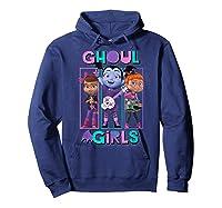 Vampirina Ghoul Girls Trio Shirts Hoodie Navy