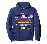 Dirt Bike Motorcycle Vintage Retro Dirtbike Dad Gifts Shirts Hoodie Navy