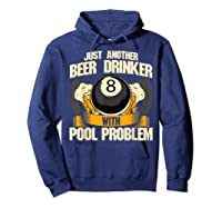 Beer Billiards For Pool Hall Pub With Mugs Suds Shirts Hoodie Navy