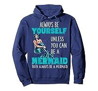 Cute Mermaid Gifts N Girls Mermaids Lover Gift Daughter Shirts Hoodie Navy