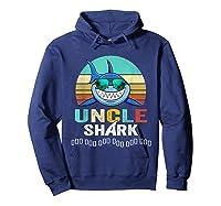 Uncle Shark Doo Doo T-shirt Hoodie Navy