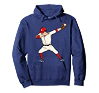 Funny Dabbing Baseball Dab Hip Hop Dance Girls Shirts Hoodie Navy