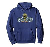 Looney Tunes Tweety Nerd Alert Shirts Hoodie Navy