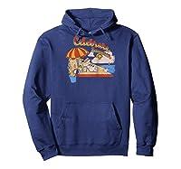 Frozen Olaf Celebrate Summer Beach Portrait Baseball Shirts Hoodie Navy