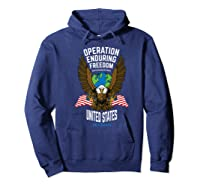 Operation Enduring Freedom Veteran Gift Shirts Hoodie Navy