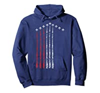 American Flag Usa Fighter Jet Con Trail Shirts Hoodie Navy