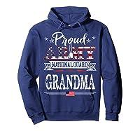 Proud Army National Guard Grandma U S Military Gift Shirts Hoodie Navy