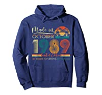 Classic October 1989 Shirt 31st Birthday Gifts 31 Years Old T-shirt Hoodie Navy