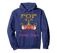 Cute Pop Of The Unicorn Birthday Princess Gift Shirts Hoodie Navy