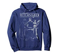 S The Return Group Poster Shirts Hoodie Navy