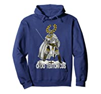 Knights Of The Teutonic Order Shirts Hoodie Navy