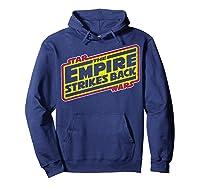 Star Wars The Empire Strikes Back Vintage Logo T-shirt Hoodie Navy