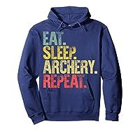 Eat Sleep Repeat Gift Shirt Eat Sleep Ary Repeat T-shirt Hoodie Navy