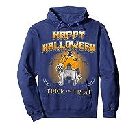 Cockapoo Dog Happy Halloween Shirts Hoodie Navy