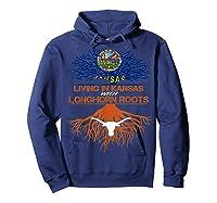 Texas Longhorns Living Roots Apparel Shirts Hoodie Navy