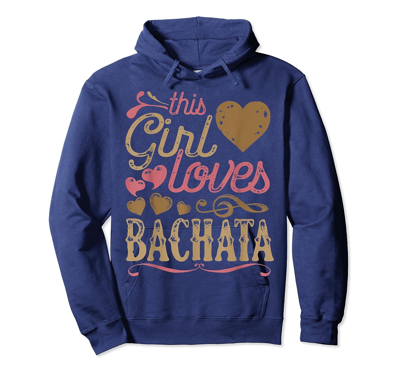 Bachata Latin Dance Gift Dancing Music Shirts Unisex Pullover Hoodie
