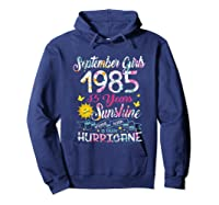 September Girls 1985 35th Years Old Awesome Since 1985 Shirts Hoodie Navy