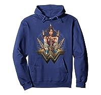Wonder Woman Movie Wonder Blades T-shirt Hoodie Navy